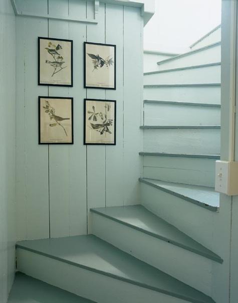 Sea foam stairway