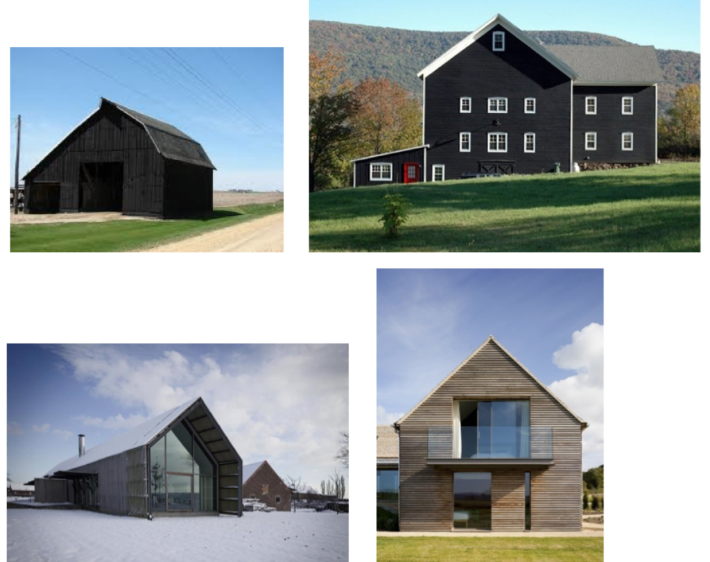 Black barns and Gray barns