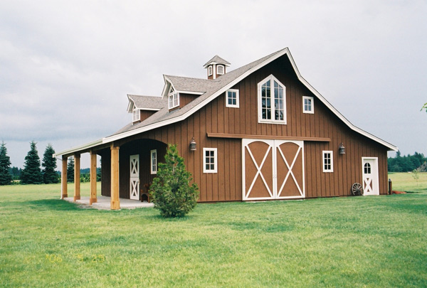 Light Brown Barn