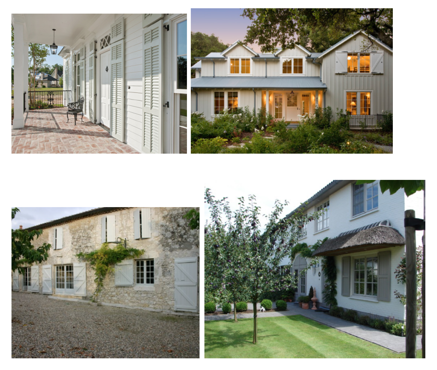 Choosing Exterior Shutter Colors History Of Different