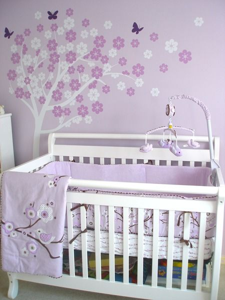 How to paint the baby nursery