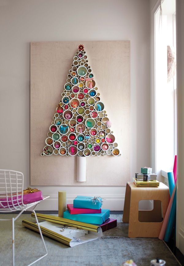 PVC tube Christmas Tree