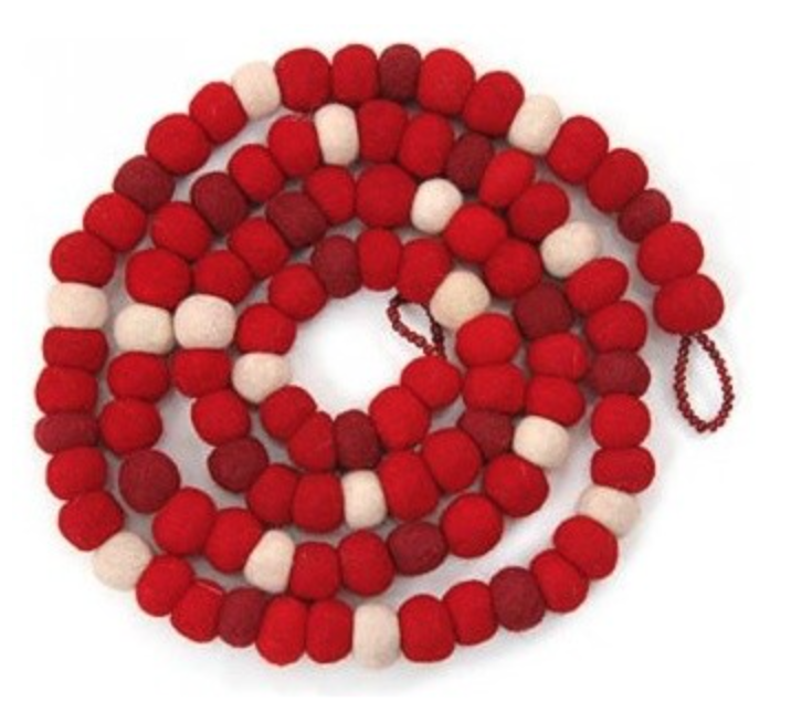 Red ball wreath