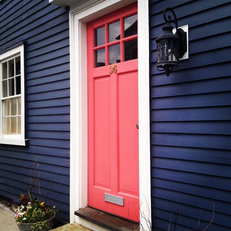 Bold door color