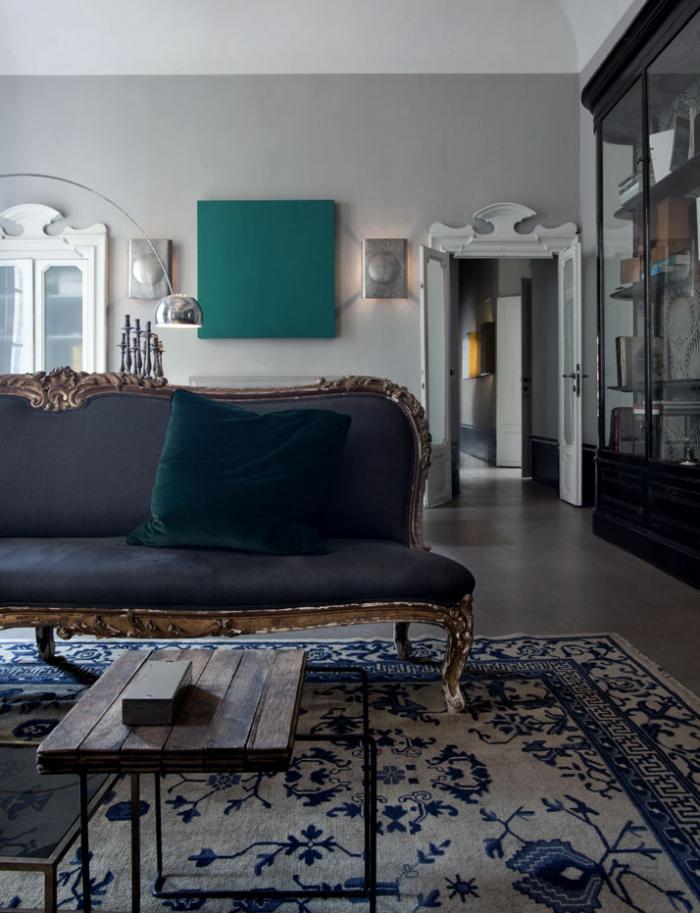 light neutral gray living room