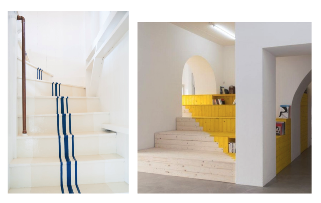 patterned staircases