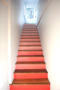 Pink Ombre steps