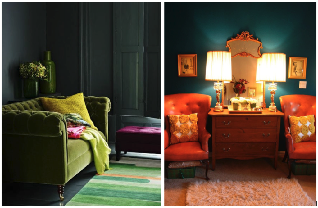 jewel toned rooms