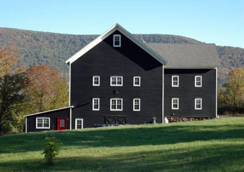 Black Modern Farmhouse