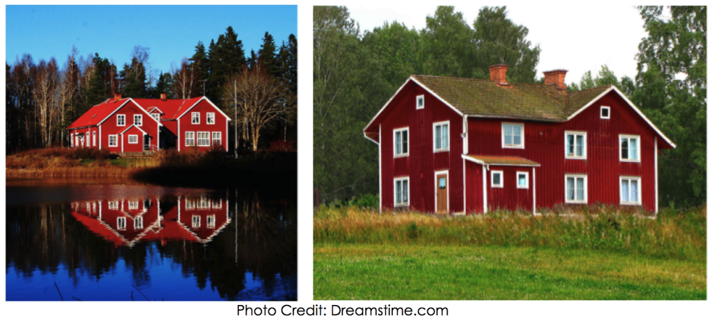 Swedish Red Houses