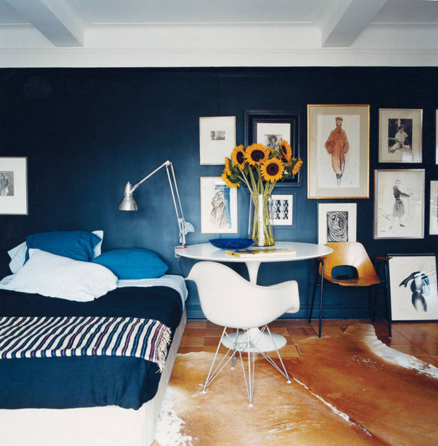 how to paint small dark rooms