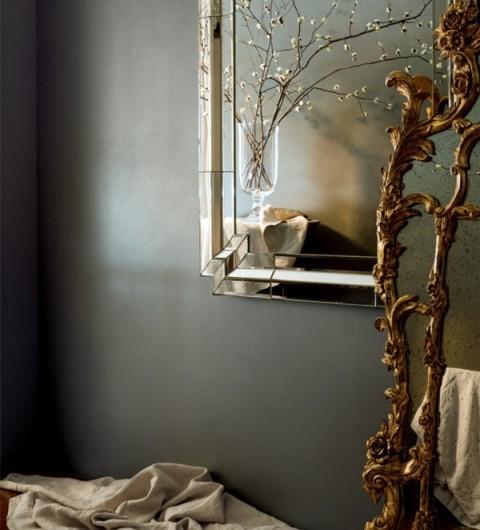 metallic wall glaze