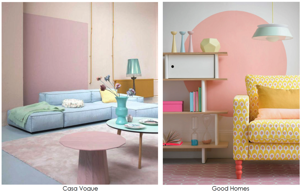 Pastels In Home Decor