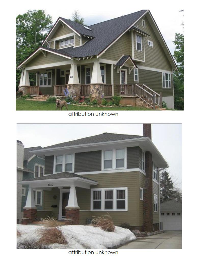 foursquare house colors