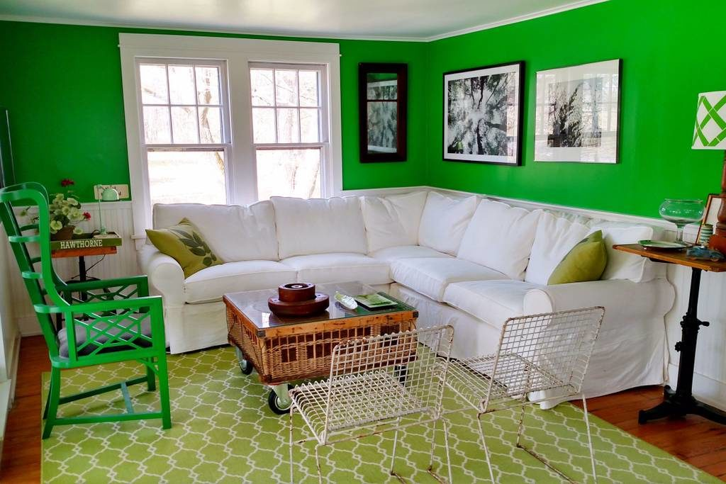 decorating with variations of the same color